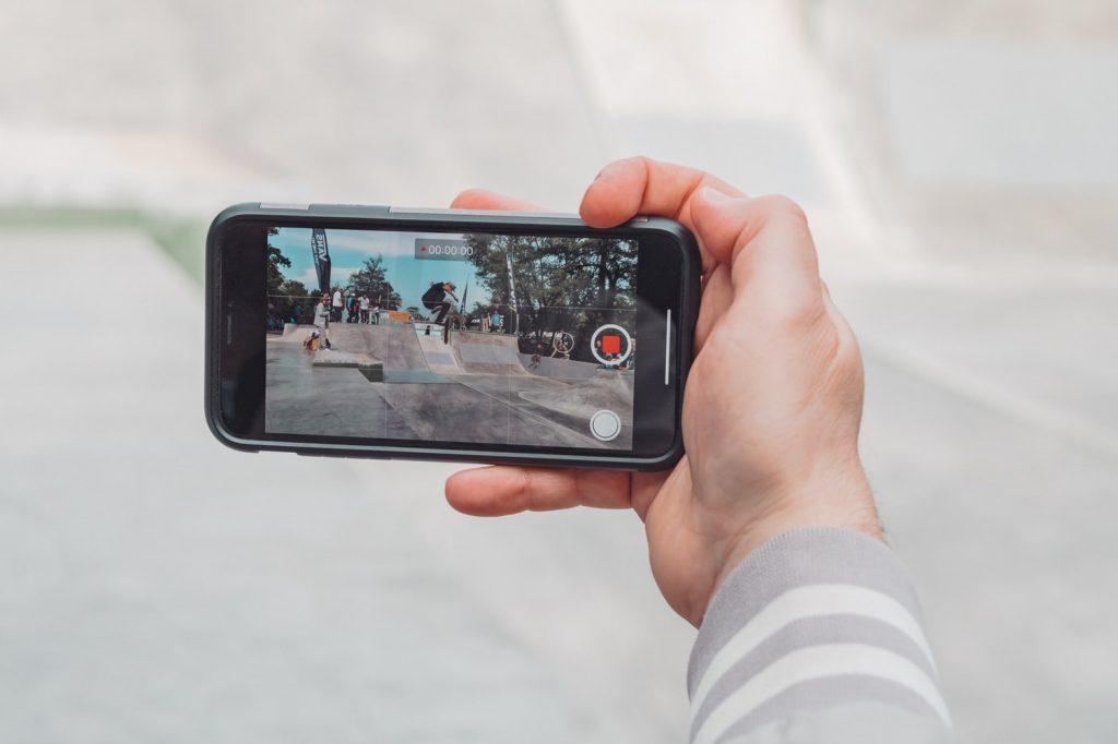 Filmer avec son smartphone